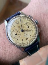 Vintage Zenith Steel Chronograph 156 Watch Orologio Beatiful !
