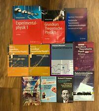 Physik Büchersammlung - Nolting, Feynman, Lewis C. Epstein - Studium und Beruf