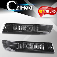for 2000-2005 Chevy Impala Clear Bumper Fog Lights Lamps Replacement Left+Right