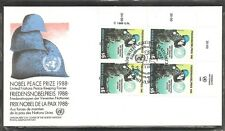 United nations / Vienna. SC # 90 Peace Keeping Force FDC. UNPA