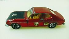 Vintage Dinky Toys Ford Capri, Pat Number 46371/68, Made In England (D)