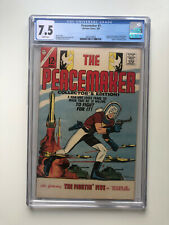 Peacemaker #1 - CGC 7.5 White Pages 1st Print John Cena Suicide Squad HBO