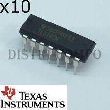 TL074CN JFET-Input Operational Amplifiers DIP-14 Texas RoHS (lot de 10)