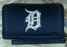 Detroit Tigers MLB Cell Phone Wallet Rhinestone Bling MLB Licensed!