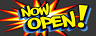 "Now Open Banner Grand Opening Advertising Full Print Vinyl Sign Shop Store 18""x4"