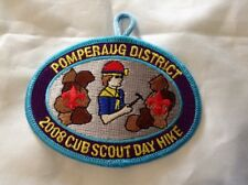 Boy Cub Scout 2008 Pomperaug District Day Hike Patch Connecticut Yankee