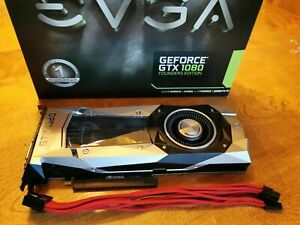 EVGA NVIDIA GeForce GTX 1080 Founders Edition (non TI) 8GB GDDR5X With Box