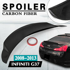 Spoiler Wing for 2008-2013 Infiniti G37 High Kick Racing Tail