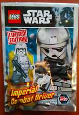 LEGO SET POLYBAG FIGURINE MINIFIG STAR WARS IMPERIAL COMBAT DRIVER EXCLUSIF