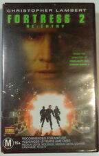 Fortress 2 Sci-Fi VHS 2000 Re-Entry Christopher Lambert Original ColumbiaTristar
