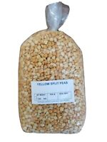 Dried Yellow Split Peas 4 lbs Non-Gmo Bulk Legumes Vegan Soups *Shelf Stable*