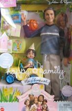 Barbie Happy Family Alan & Ryan Dolls Happy Birthday !  2 Dolls, Mini Truck &...
