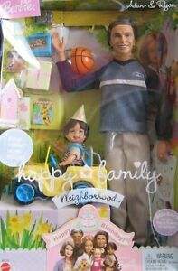 Barbie Happy Family Alan & Ryan Dolls Happy Birthday !  2 Dolls, Mini Truck &...