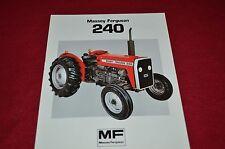 Massey Ferguson 240 Tractor Dealer's Brochure FMD 904-183-25-1