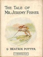 the tale of mr jeremy fisher .beatrix potter 1950s