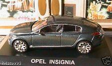 OPEL INSIGNIA CONCEPT CAR NOREV 1/43 NEW FUTURE CAR RFA DARK GREY METAL ALTAYA