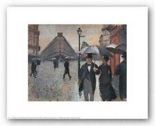 CITYSCAPE ART PRINT Paris a Rainy Day 1877 Gustave Caillebotte 14x11