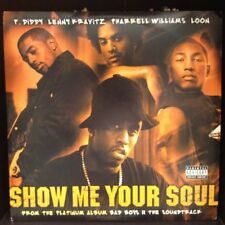 """[RAP]~NM 12""""~PUFF DADDY[P.DIDDY]~LENNY KRAVITZ~LOON~Show Me Your Soul~"""