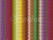 NORO ::Taiyo Sport #08:: cotton silk wool yarn 40% OFF Fuchsia-Purple-Lemon-Lime