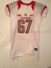 Nike Rutgers Football Game Worn Jersey 2015 BIG 10