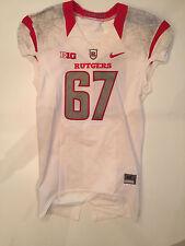Nike Rutgers Football Game Worn Jersey 2015 BIG 10