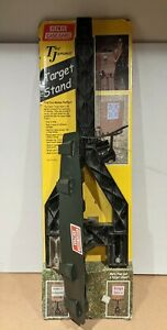MTM JMTS11 Jammit Compact Target Stand Double Stake 24 Inch Off Ground Black