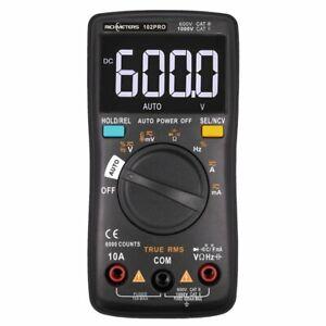 Digital Multimeter Messgerät Temperaturmessung True RMS LCD-Anzeige Voltmeter DE