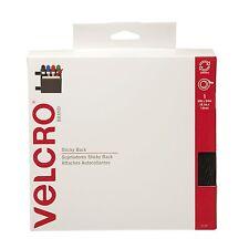 """VELCRO Brand - Sticky Back - 18"""" x 3/4"""" Tape - Black"""