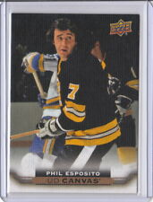 15/16 2015-16 Upper Deck Canvas #C245 Phil Esposito Bruins
