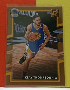 2017-18 Panini Donruss - Klay Thompson - Base Card #49 - Golden State Warriors