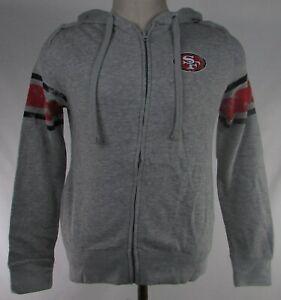 San Francisco 49ers NFL Juniors Collection Girls Full-Zip Hoodie
