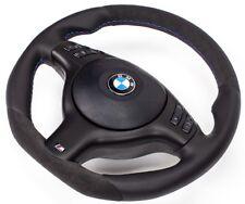 TUNING ALCANTARA M3 M5 Lederlenkrad+Airbag BMW E39 M5 X5 UNTEN ABGEFLACHT SCHWA
