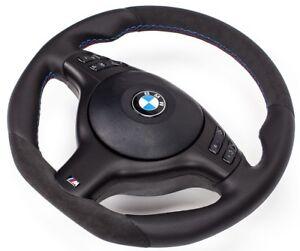 Tuning Alcantara M3 M5 Volante de Cuero + Airbag BMW E39 M5 X5 E46 Abajo