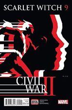 Scarlet Witch # 9 Regular Cover 2015 NM Marvel