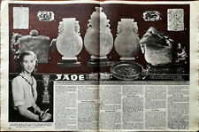 More details for jade history of chinese jade vintage article 1948