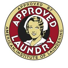 Vintage Style Metal Sign Approved Laundry 14 x 14