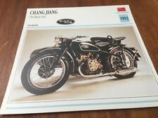 Fiche moto collection Atlas motorcycle Chang Jiang 750 Black Star 1992