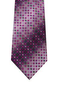 John Ashford pink tie Robin Dot polyester washable new