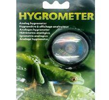 Hygromètre Analogique Humidité Gauge Reptile Terrarium Vivarium niveaux BP pawmits
