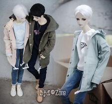New printing Hooded cardigan Army green /pink/Ordinary green1/3 boy BJD Clothes