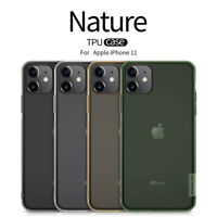 Nillkin Nature TPU, Clear Silicone Soft Case Cover for Apple iPhone 11