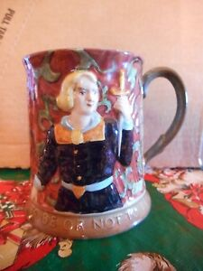 """Vintage Royal Doulton Beswick England Hamlet """" To Be Or Not To Be"""" Mug #1147"""