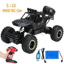 1:12 RC Monster Truck Ferngesteuert Auto 4WD Geländewagen Off-Road Buggy USB
