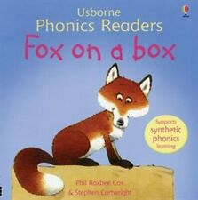 Usborne Book (new) Phonics Reader FOX ON A BOX