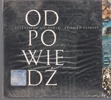 GINTROWSKI HERBERT - ODPOWIEDZ 2000 NEW & SEALED TOP RARE POLISH ONLY RELEASE CD
