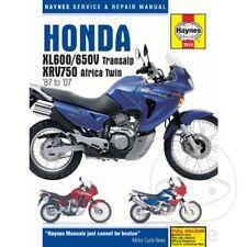 Honda XL 600 V Transalp 1998 Haynes Manual de reparación de servicio 3919