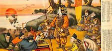 Various Artists Yamato Sakura Japanese History Battle Picture Album Print No. 5