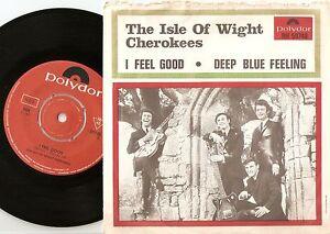 ISLE OF WIGHT CHEROKEES FEEL GOOD/BLUE FEELING SWEDISH 45+PS 1967 MOD FREAKBEAT