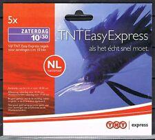 Express zegel TNT 2007 zaterdag compleet boekje van 5 * START ONDER NOMINAAL!