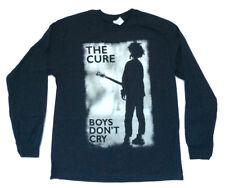 The Cure-Boys Don't Cry Retro-X-Large  Longsleeve Black T-shirt